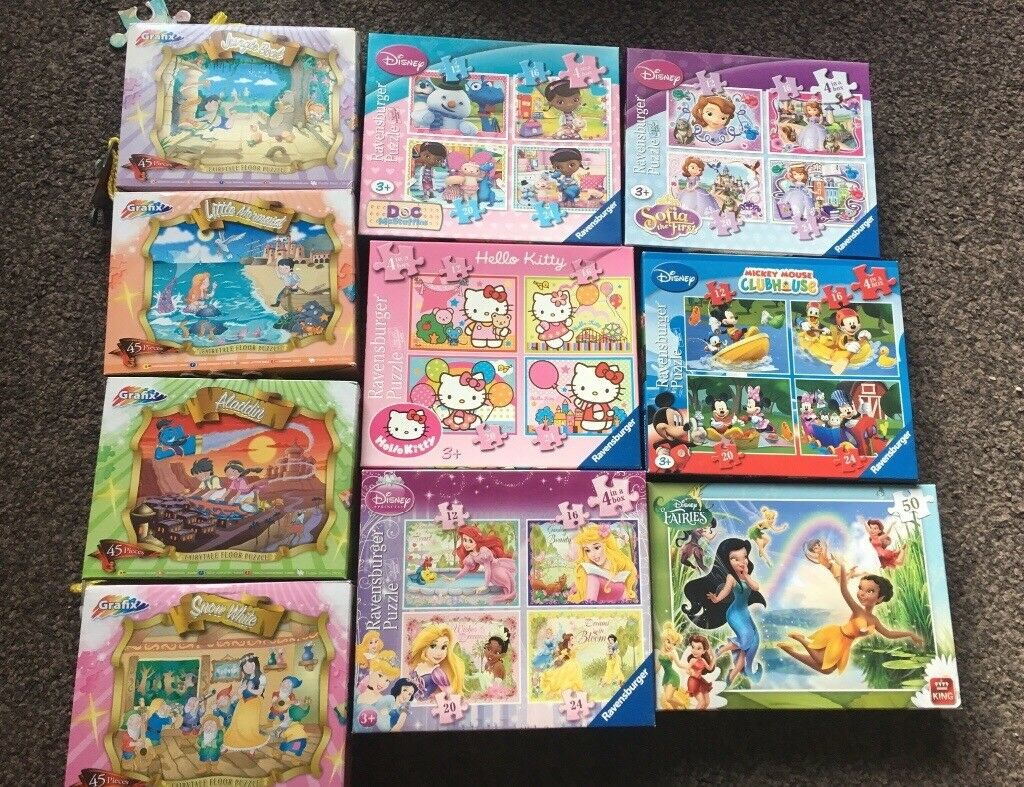 10 x Kids Jigsaws