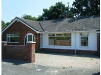 A FOUR DOUBLE BEDROOM DETACHED BUNGALOW TO RENT - OFF ROAD PARKING AND GARAGE - PETS CONSIDERED