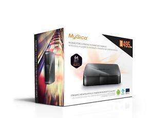 MyGica ATV 495 Quad Pro 4K Ultra HD HDMI 2.0 Android 5.1 TV Box + Wireless Keyboard KODI 1GB-2GB RAM / 8GB-16GB Memory