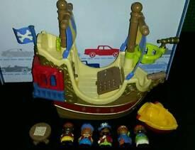 Happyland Pirate Ship