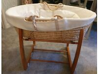 Mama and Papas moses basket