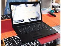 "17"" Lenovo laptop 4 GB RAM , 1 TB HDD, DVD, Windows 8 - good condition - some warranty left"