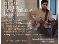 Experienced Guitar, Singing & Music Theory tutor in London