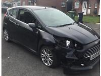 2013 63 Ford Fiesta Zetec 1.0 Damaged Repairable Salvage
