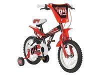 Spike 14 Inch Bike - Boy's with Stabilisers *NEW*