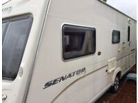 2008 Bailey Senator Arizona (Side Dinette, Full End Washroom, Walk-in Shower)