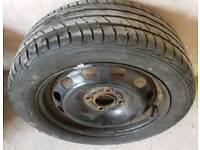 "FORD FIESTA mk6 mk7 mk8 15"" Steel wheel & 195/50/R15 Tyre with 7mm Tread"