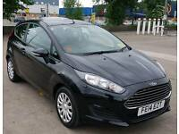 2014 Ford Fiesta 1.5 TDCi Style 3dr Diesel black Manual #FSH #2 Keys #Free Tax