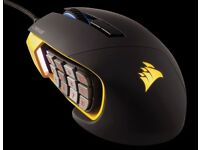 Scimitar Pro RGB Gaming mouse MOBA/MMO - Excellent condition