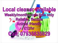 Cleaning in Basingstoke and surrounding areas £12/hr