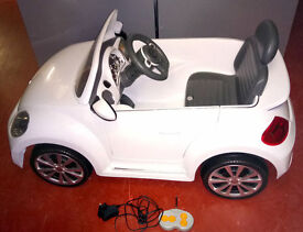 VW Beetle Remote Control Ride in Car