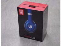 Beats Studio High Quality Headphones in Blue £250