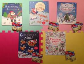 Christmas sticker and colouring books