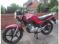 YAMAHA YBR 125 2008 In Excellent Unmarked Condition 12 Months MOT. CBF CBR YZF R EN