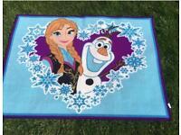 Frozen rug