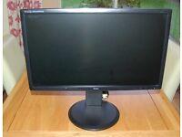 "Iiyama Pro Lite 24"" Widescreen 1920 x 1080 2ms HDMI DVI-D VGA LCD Monitor"