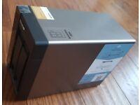 Qnap 2 bay NAS with 2x 4tb WD HDDs - TS-253A 8TB 4G Ram - with warranty until 2020
