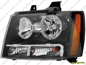 Head Lamp Driver Side High Quality Chevrolet Tahoe 2007-2014