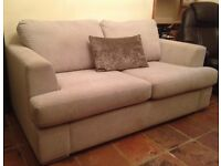 REDUCED TO BELOW HALF ORIGINAL PRICE: Luxury Hand Manufactured Sofa Bed In Excellent Condition