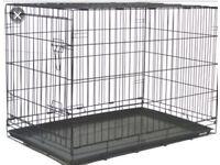 2 x extra large dog crates