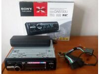 Sony CDX-700U CD, mp3, USB,AUX, DAB