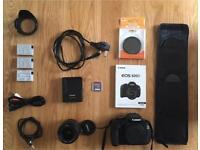 Canon 600D + Accessories