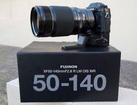 Fujifilm XF50-140mm zoom lens (Fujinon XF50-140 Fuji)