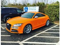 Audi TTS 2.0TFSI QUATTRO 320bhp in Solar Orange.