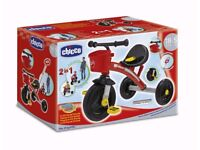 Brand new (boxed) Chicco U Go Ducati Trike in Red for sale