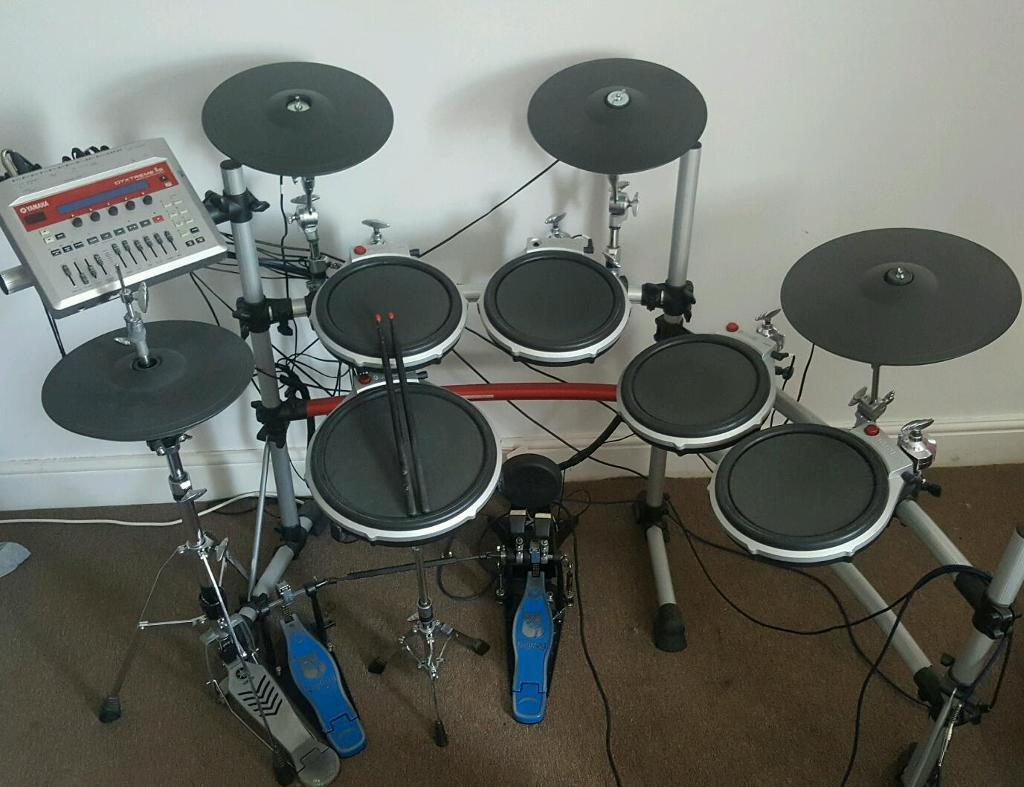 Yamaha dtxtreme ii electronic drum kit in margate kent for Yamaha electronic drum kit for sale