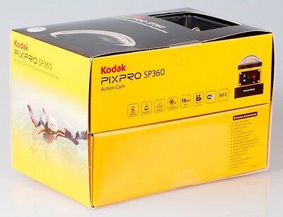 PixPro Kodak SP360 HD Video Action Camera Camcorder Aqua Sport Pack, NEW**
