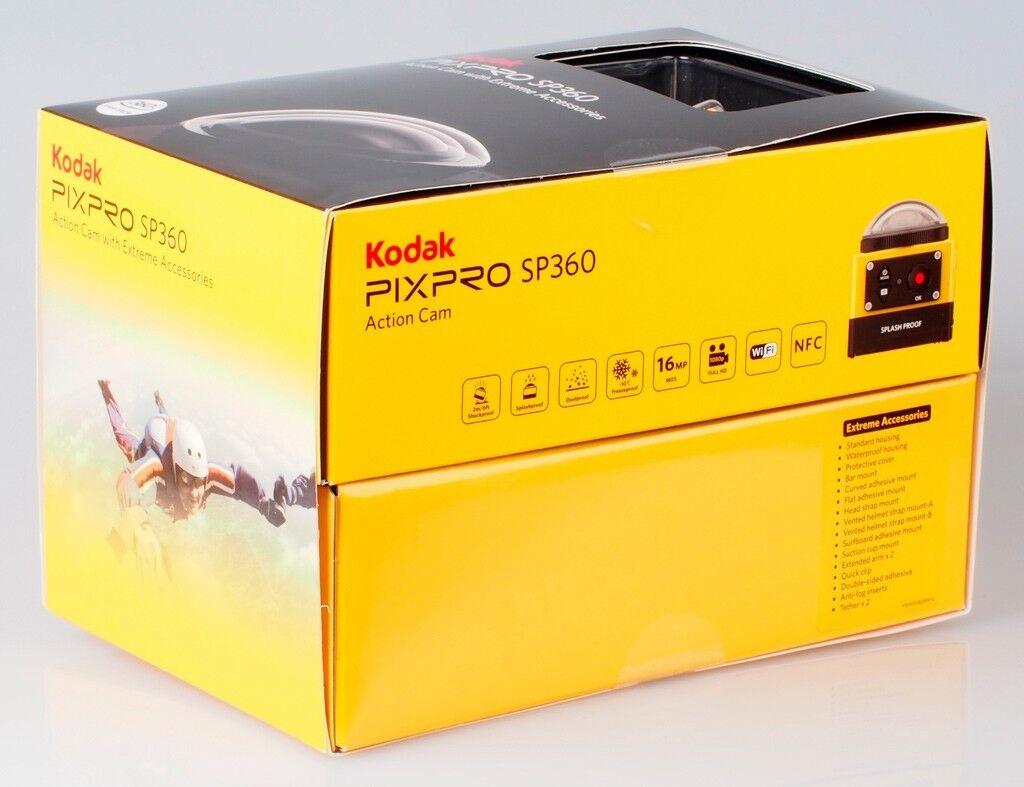 PixPro Kodak SP360 HD Video Action Camera Camcorder Aqua