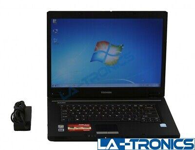 Toshiba Satellite L35-S2316 Laptop 1.86GHz 512MB RAM 80GB HDD CDRW-DVD Win 7