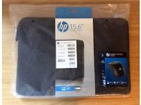 "Brand new hp 15.6"" Laptop Spectrum Sleeve and Wireless Mouse"