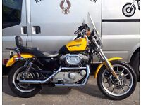 FANTASTIC CONDITION 2000 HARLEY DAVIDSON XL1200S SPORT, 1 OWNER, WELL CARED FOR, MANY EXTRAS