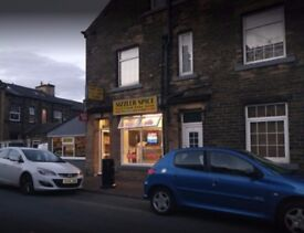busy takeaway to rent, set on a main road