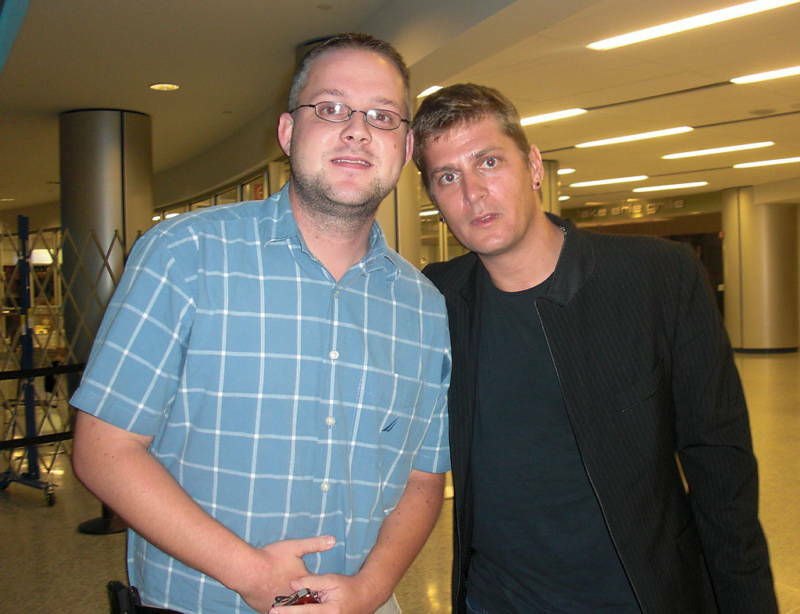 ROB THOMAS SIGNED INPERSON 8X10 W/ PROOF MATCHBOX 20