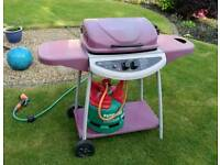 Gas Barbecue with Gas Cylinder