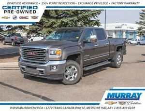 2015 GMC SIERRA 2500HD SLT *4WD *Leather *Heated Seats