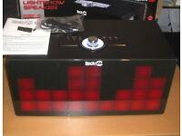 RockJam BT1106XL Lightshow Mp3 Aux Portable Rechargeable Speaker