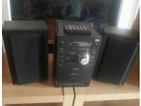 Hi-fi system cd,tape,radio