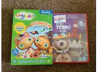 Waybuloo and Charley Bear child dvds