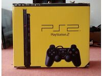 SONY PS2 Slim Console Boxed Slimline Excellent Condition PlayStation