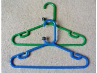 OVER 250 CHILDRENS QUALITY PLASTIC COAT HANGERS