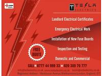 NICEIC registered electrician in London