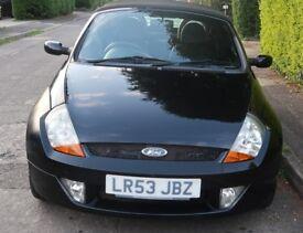 Ford StreetKa Luxury 1.6 convertible 2003 (53) Black