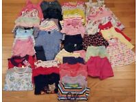 1 ½ -2 years girls' clothes bundle