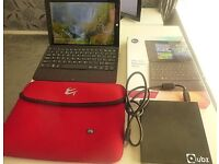 "Linx 1010b 10.1"" Tablet with Keyboard Dock 64gb 2gb Windows 10 USB Dvd Drive"