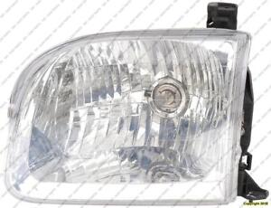 Head Lamp Driver Side Sequoiautomatic Transmissionundra Double Cab Toyota Sequoia 2001-2004