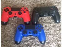 PS4 CONTROLLER X 3 FOR SALE